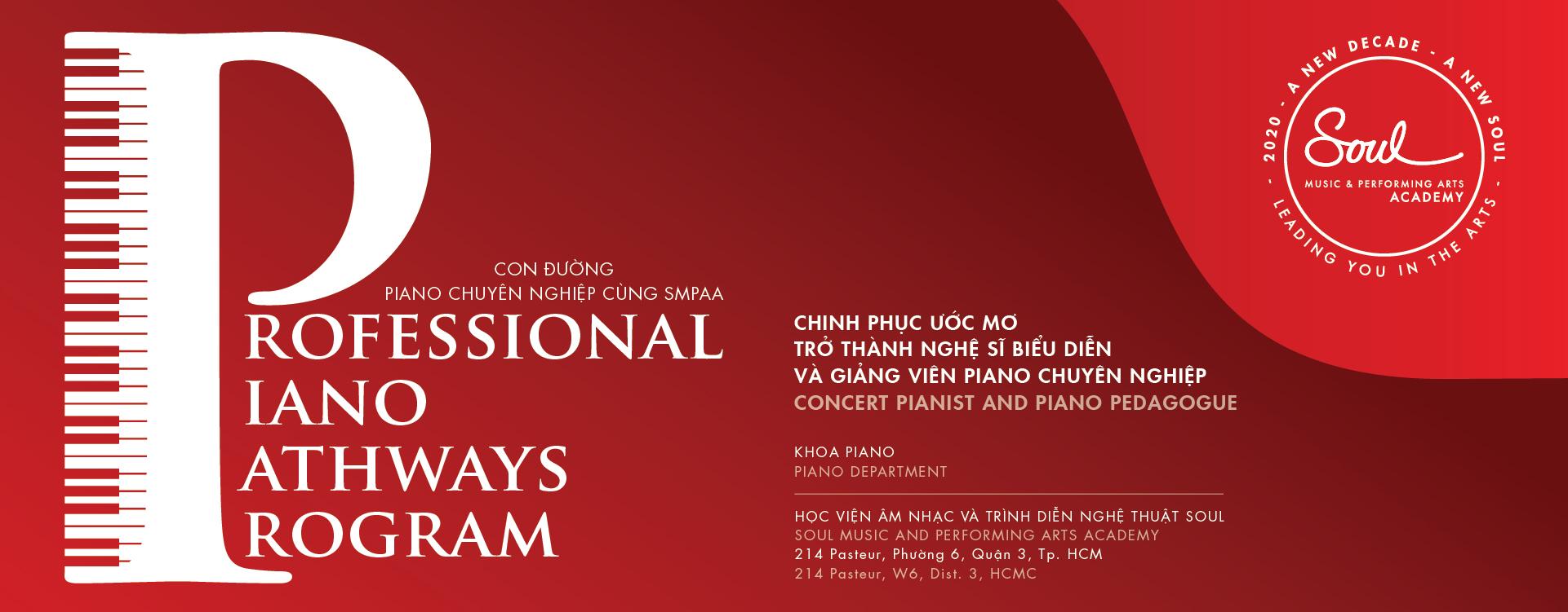 Instructor of Piano - Professional Piano Pathways Program
